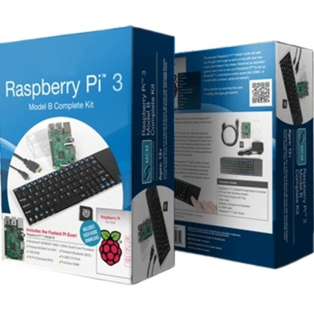קיט פיתוח - RASPBERRY PI 3 - MODEL B - PREMIUM KIT RASPBERRY PI