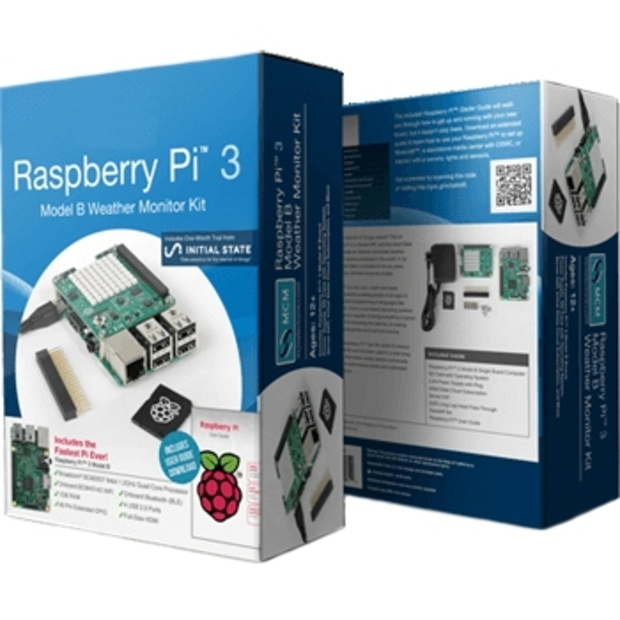 קיט פיתוח - RASPBERRY PI 3 - MODEL B - SENSOR KIT RASPBERRY PI