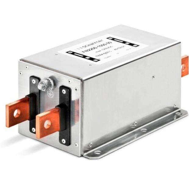 מסנן EMC / RFI עם חיבור לפאנל - סדרה 50A - FN2200B SCHAFFNER