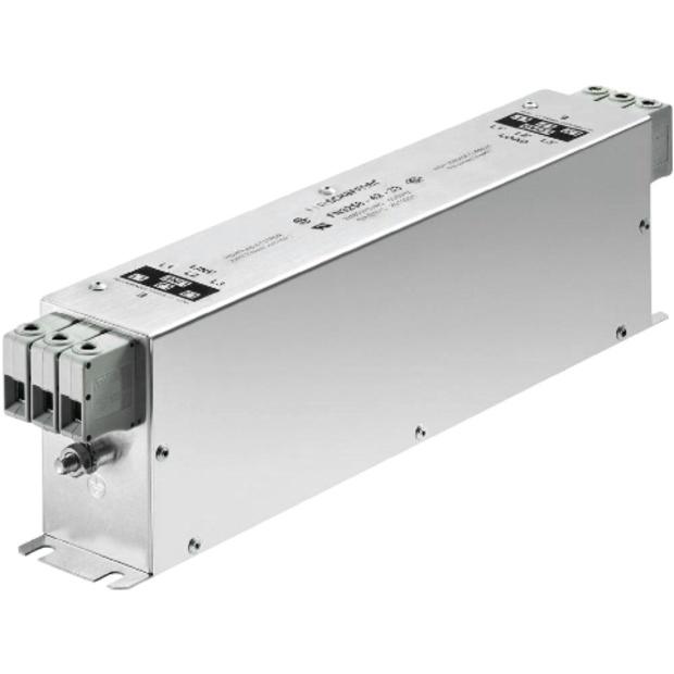 מסנן EMC / RFI תלת פאזי עם חיבור לפאנל - סדרה 100A - FN3258H SCHAFFNER