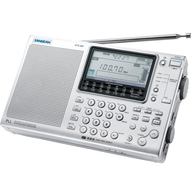רדיו נייד דיגיטלי רב-ערוצי - SANGEAN ATS-909 SANGEAN