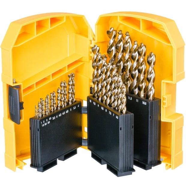 סט מקדחים מקצועי למתכת - 29 יחידות - DEWALT DT7926-XJ DEWALT