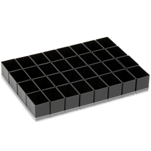 קיט 32 תאים לקופסת אחסון מודולרית אנטי סטטית RAACO