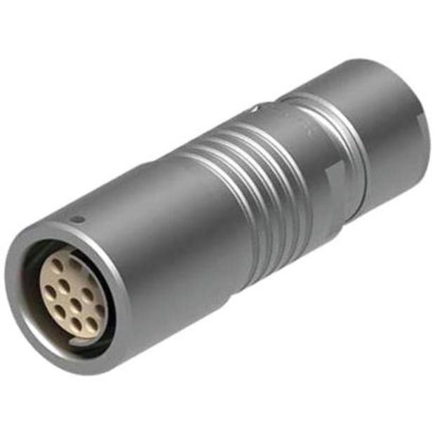 מחבר FISCHER - נקבה לכבל - 5 מגעים - +KE 102 A54-130 FISCHER CONNECTORS