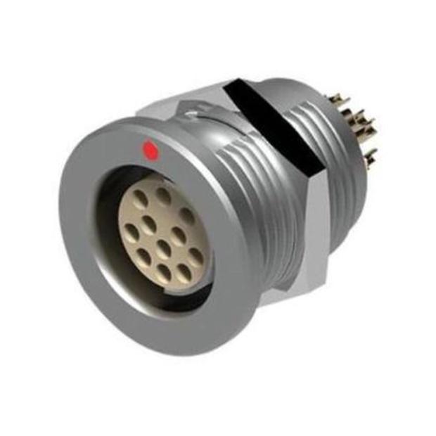 מחבר FISCHER - נקבה לפנל - 9 מגעים - D 102 A059-130 FISCHER CONNECTORS