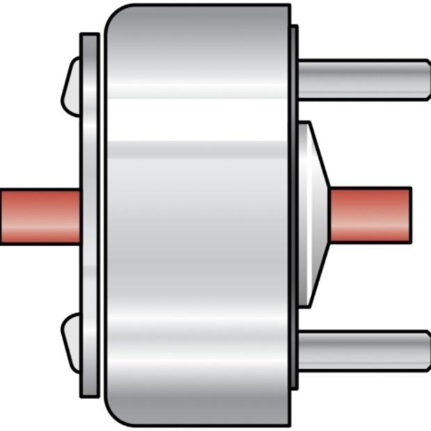 סולנואיד סיבובי - 12.5W , 13.2V , CW LEDEX