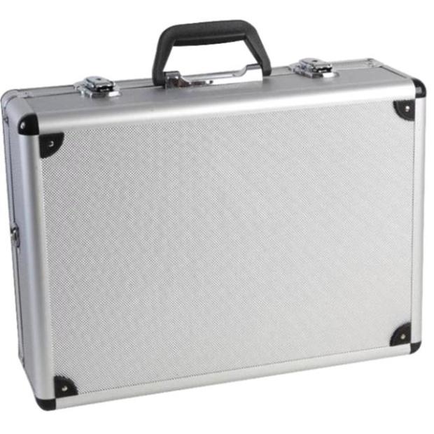 מזוודת כלים מקצועית מאלומיניום - DURATOOL - 460X330X155MM DURATOOL