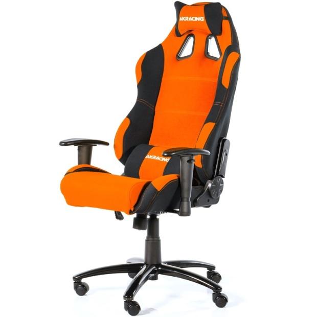 כסא לגיימרים - AKRACING , PRIME , BLACK / ORANGE AK RACING