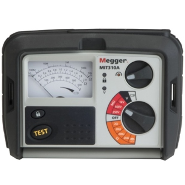 מודד בידוד / רציפות אנלוגי - MEGGER MIT310A - 250V ~ 1000V MEGGER