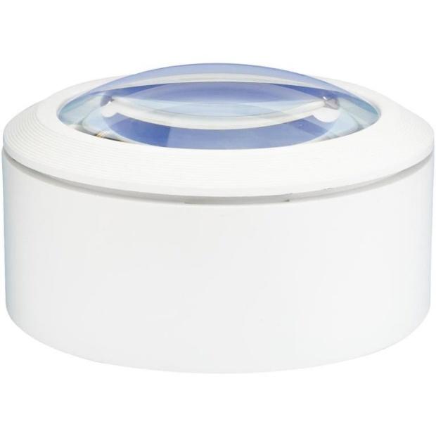 זכוכית מגדלת ידנית עם תאורת LED - הגדלה X3 LIGHTCRAFT