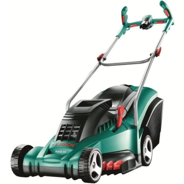 מכסחת דשא חשמלית מקצועית - BOSCH ROTAK 43 ERGOFLEX BOSCH