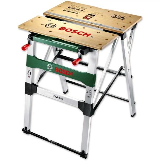 שולחן עבודה מתקפל נייד - BOSCH PWB 600 BOSCH