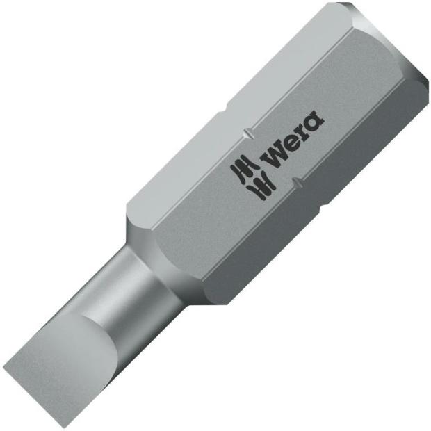 ביט למברגה - ראש שטוח - WERA 800/1 Z - 0.8MM X 5.5MM X 25MM WERA