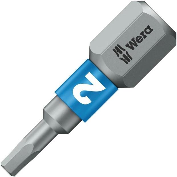 ביט למברגה - ראש אלן - WERA 840/1 BTZ - 2MM X 25MM WERA
