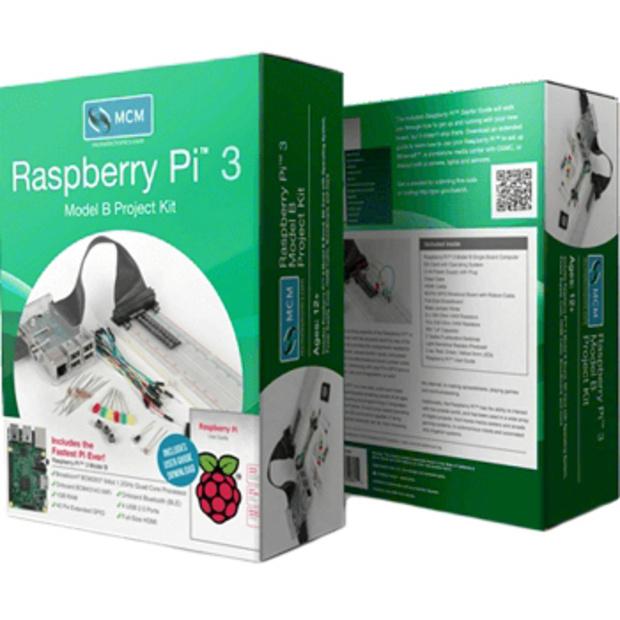 קיט פיתוח - RASPBERRY PI 3 - MODEL B+ - PROJECT KIT RASPBERRY PI