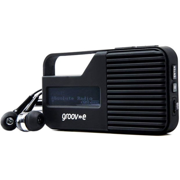 רדיו אוזניות נייד דיגיטלי - GROOV-E GV-DR01 GROOV-E