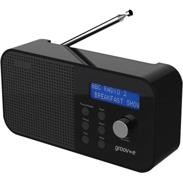 רדיו נייד דיגיטלי - GROOV-E GV-DR04 GROOV-E