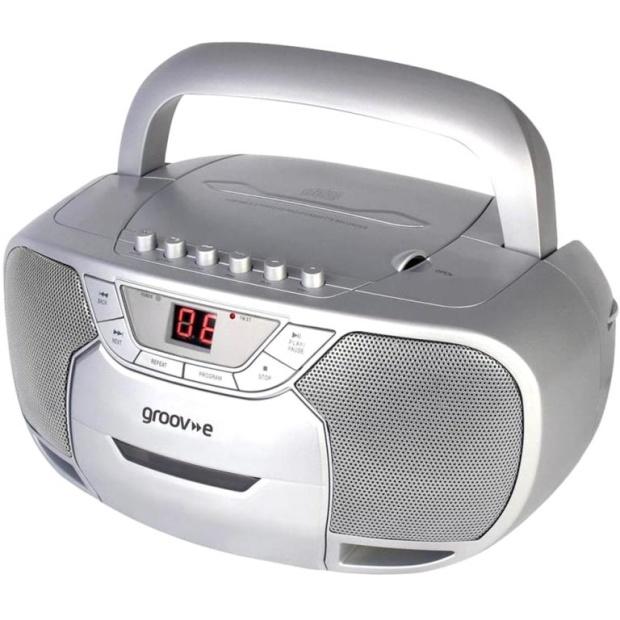 רדיו טייפ דיסק נייד דיגיטלי - GROOV-E GVPS823 GROOV-E