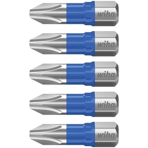 חבילת ביטים למברגה - ראש פיליפס - WIHA 41600 - PH3 X 25MM WIHA