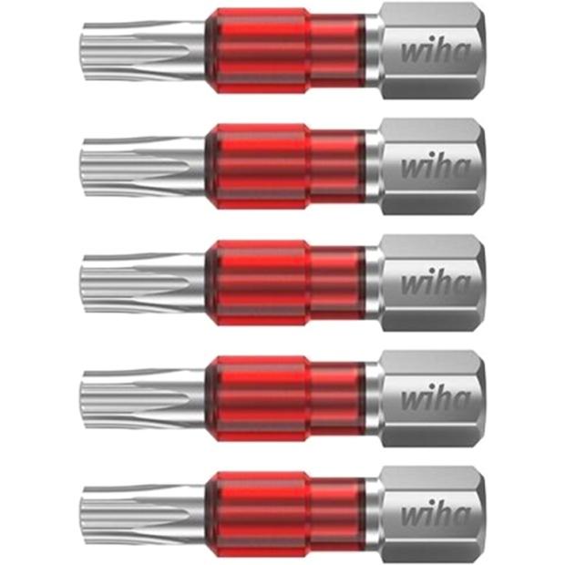 חבילת ביטים למברגה - ראש כוכב - WIHA 42109 - T15 X 29MM WIHA