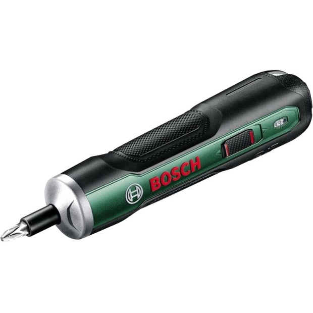 מברגה נטענת 3.6V קומפקטית - BOSCH PUSHDRIVE KIT BOSCH
