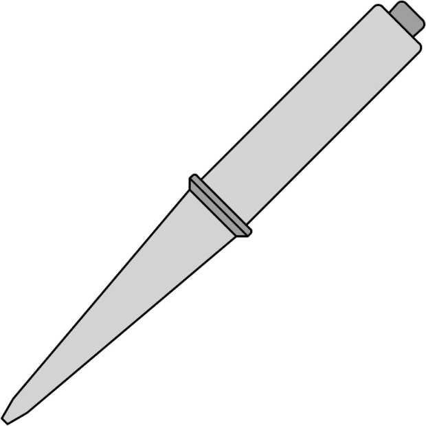 ראש למלחם - WELLER CT5 A7 - 1.6MM CHISEL WELLER