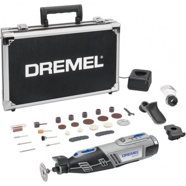 משחזת ציר נטענת 12V - קיט 38 אביזרים - DREMEL 8220 EXPERT KIT DREMEL