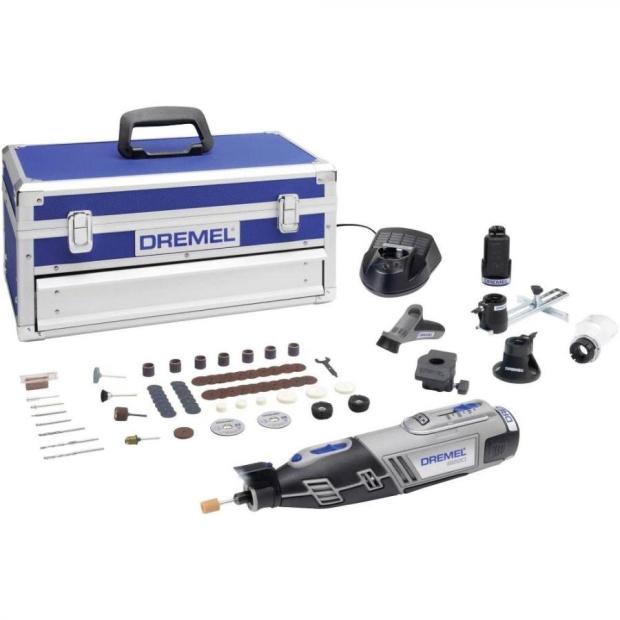 משחזת ציר נטענת 12V - קיט 70 אביזרים - DREMEL 8220 PLATINUM DREMEL