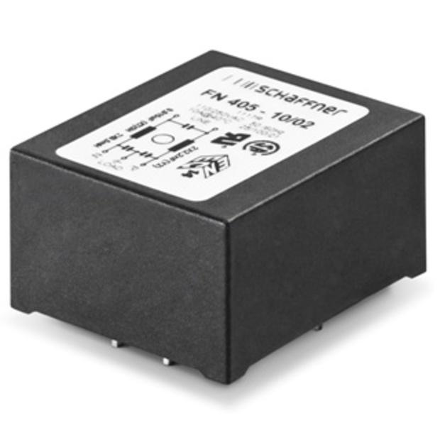 מסנן EMC / RFI למעגל מודפס - סדרה 6A - FN405 SCHAFFNER