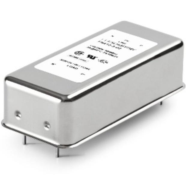 מסנן EMC / RFI למעגל מודפס - סדרה 6A - FN410 SCHAFFNER