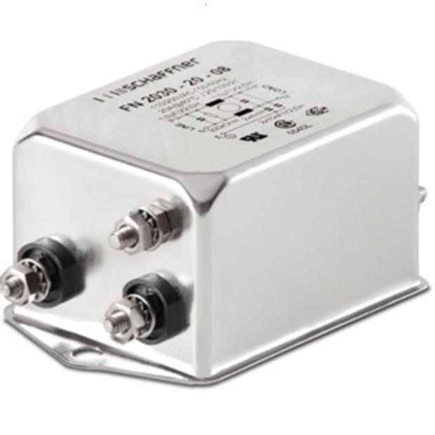 מסנן EMC / RFI עם חיבור לפאנל - סדרה 30A - FN2030B SCHAFFNER