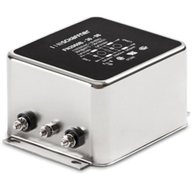 מסנן EMC / RFI עם חיבור לפאנל - סדרה 1A - FN2060 SCHAFFNER