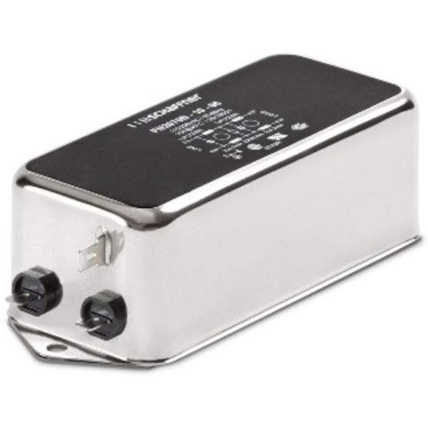 מסנן EMC / RFI עם חיבור לפאנל - סדרה 6A - FN2070 SCHAFFNER