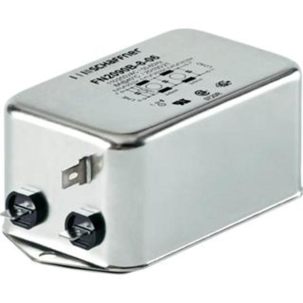 מסנן EMC / RFI עם חיבור לפאנל - סדרה 6A - FN2090 SCHAFFNER