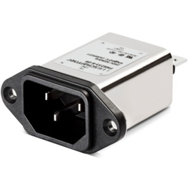 מסנן EMC / RFI עם כניסת מתח IEC - סדרה 6A - FN9233 SCHAFFNER