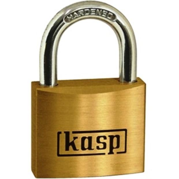 מנעול תלייה מקצועי - KASP SECURITY - 40MM KASP SECURITY