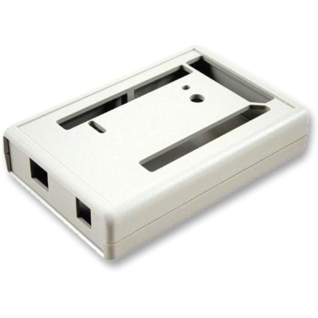 קופסת זיווד לבנה לכרטיס פיתוח - ARDUINO MEGA 2560 HAMMOND
