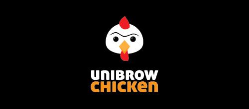 thiết kế logo hình con gà