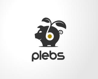 Mẫu thiết kế logo con lợn