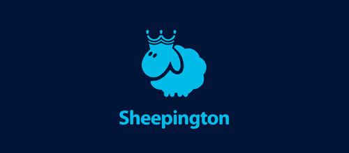 thiết kế logo lấy cảm hứng từ hình tượng con cừu