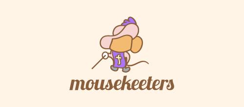 thiết kế logo lấy cảm hứng từ hình con chuột