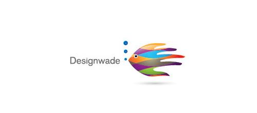 Thiết kế logo từ hình ảnh con cá đầy ấn tượng