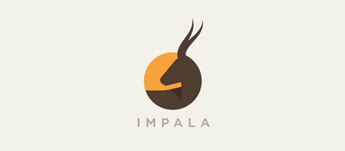 Mẫu thiết kế logo lấy ý tưởng từ con Hươu