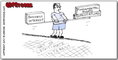 Legitimate Interest involves finding the right balance between business interest and expectations