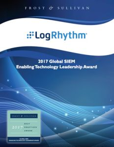 Frost & Sullivan Global SIEM Tech Leadership Award