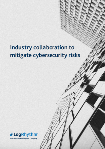 Industry Collaboration to Mitigate Cybersecurity Risks Image