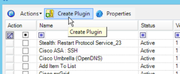 Creating the New Plug-In in SmartResponse Manager