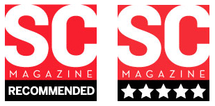 SC Magazine Recommended and Five Star logo