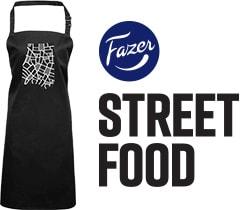 Street food -esiliina