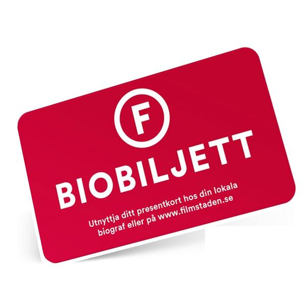 Filmstaden Biobiljett